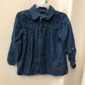 Tommy Hilfiger Denim Long Sleeve Button Down